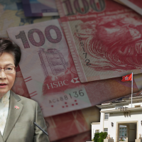HK chief executive having to keep piles cash at home