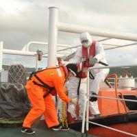Taiwan Coast Guard ship sails 8 days to save Indonesian fisherman