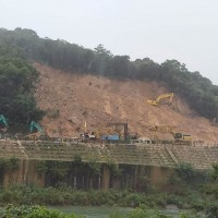 Reopening of landslide-hit railway in northern Taiwan delayed
