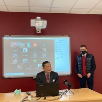 Representative highlights Taiwan's economic, political achievements at Italian university seminar