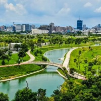 Taichung Central Park opens in central Taiwan