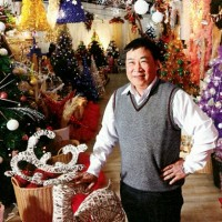 Taiwan's Christmas King grapples with a slide in overseas demand for decorations