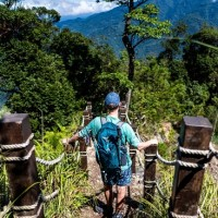 Taiwan's Taichung urges people to take up hiking challenge