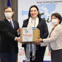 Taiwan donates medical supplies to Central American allies hit by storms
