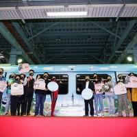 北台灣捷運文湖線推彩繪觀光列車 邀民眾到台北「卯起來玩」