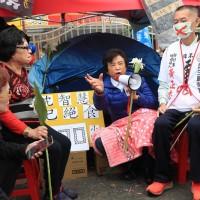 抗議萊豬進口絕食97小時 台灣前立委沈智慧失溫送醫