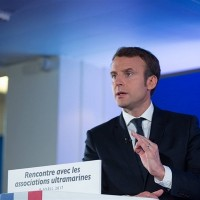 Taiwan sends best wishes to COVID-19-infected French president