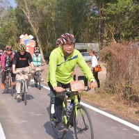 Wanjin Sugar Railway Bike Path inaugurated in southern Taiwan