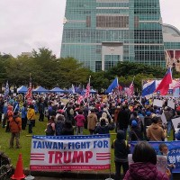 After US cements election results, China-wary Taiwan sees rally for Trump