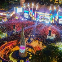 New Taipei halts outdoor gatherings at Christmasland after local coronavirus case