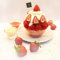 嚴選10顆以上草莓 大苑子「莓好雪藏」以奶酪搭配鹹奶霜 酸甜鹹口口是驚喜