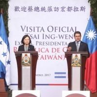 Taiwan president calls Honduran counterpart to express support after hurricanes