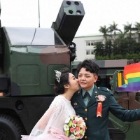 Same-sex marriages in Taiwan's military chosen as 2020 defining moment