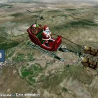行蹤暴露!北美防空司令部證實 耶誕老人平安夜造訪台灣