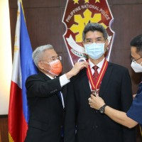Taiwan police officer awarded prestigious medal in Philippines