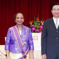 Taiwan awards outgoing Belizean ambassador with prestigious medal