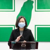 防疫來到九局下半不能鬆懈 蔡英文盼台灣人持續團結