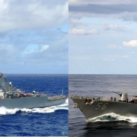 2 US warships pass through Taiwan Strait on New Year's Eve