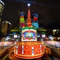 New Taipei Christmasland wraps up early as coronavirus precaution