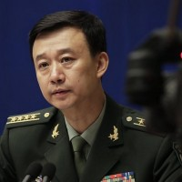 China says trailed U.S. warships through Taiwan Strait