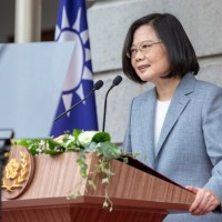 Taiwan's president pledges to build better country, revive economy in post-coronavirus era