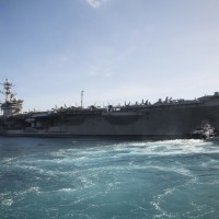 US carrier group enters South China Sea amid Taiwan tensions