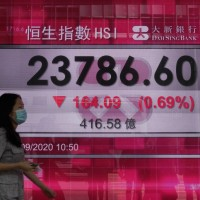 Asian shares track Wall Street retreat; big banks tumble