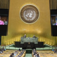 Three diplomatic allies voice support for Taiwan at UN General Assembly