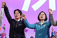 Lai rebuts rumor Taiwan's President Tsai would be ousted after re-election