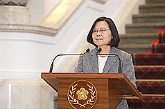 Legislation intended to curb Chinese infiltration signed into law by Taiwan's president