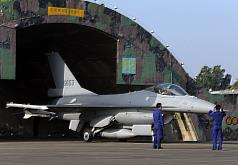 Taiwan's Air Force constructing hangars, storage facilities for new F-16V fighters