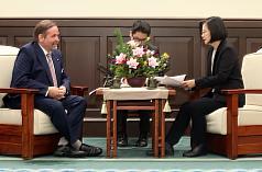 蔡英文籲聯合國相關機構 正視台灣人健康權益