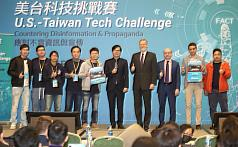 Taiwan tech team wins $US175,000 in US-funded competition to combat disinformation