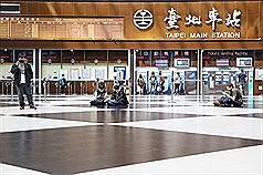 Janitors at Taipei Main Station test positive for COVID-19