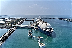 1st shipment of carbon-neutral LNG arrives at Kaohsiung