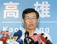 楊明州宣誓代理台灣高雄市長 盼「一天當三天用」