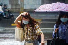 Rainfall forecast across Taiwan for Thursday, Friday