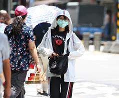 Taipei temperature of 39.7 C hits 124-year record