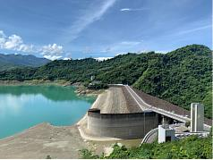 Major dams in Taiwan show alarmingly low water levels