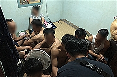 25 illegal migrant workers arrested in S. Taiwan