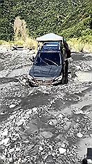 台灣中部河床露營遇水壩放水 溪水暴漲致3死1失蹤