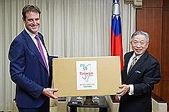 Taiwan donates 500,000 surgical masks to Australia