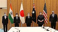 美日印澳四方安全對話 台海和平穩定成焦點