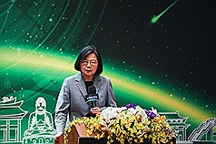 President positions Taiwan to make most of new global supply chain network