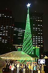 New Taipei City lights up Christmas tree hoping for 6 million visitors