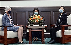英國駐台代表任期屆滿 讚台灣進步、盼台英持續加深合作