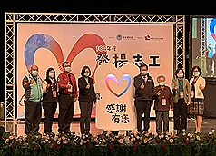 Taiwan president praises volunteers' role in fighting coronavirus