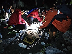 Man found 40 days after jumping down ravine in central Taiwan