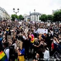Paris Pride: LGBT activists protest against racism, police brutality