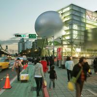 台北表演藝術中心登美國CNN、英國衛報 行星球體外觀成台灣新地標